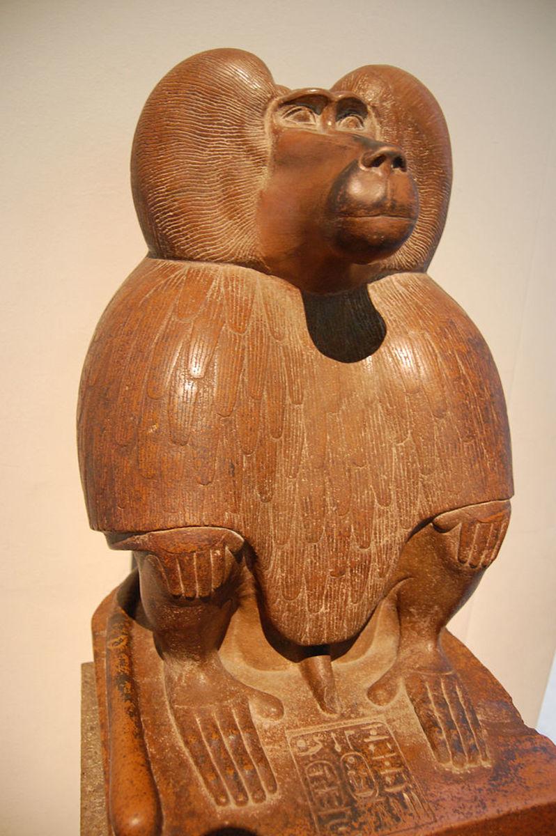 Thoth statue, British Museum