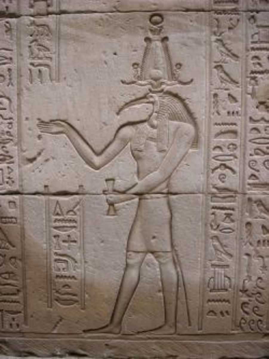 Thoth, Temple of Edfu, Egypt