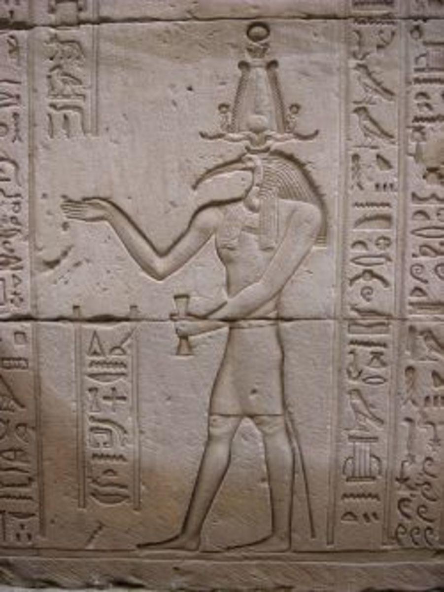 Thoth, Temple of Edfu, Egypt