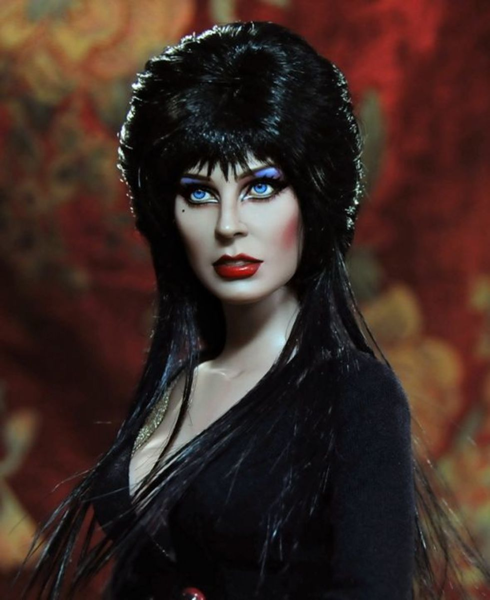 """Elvira, Mistress of the Dark"" by Noel Cruz"