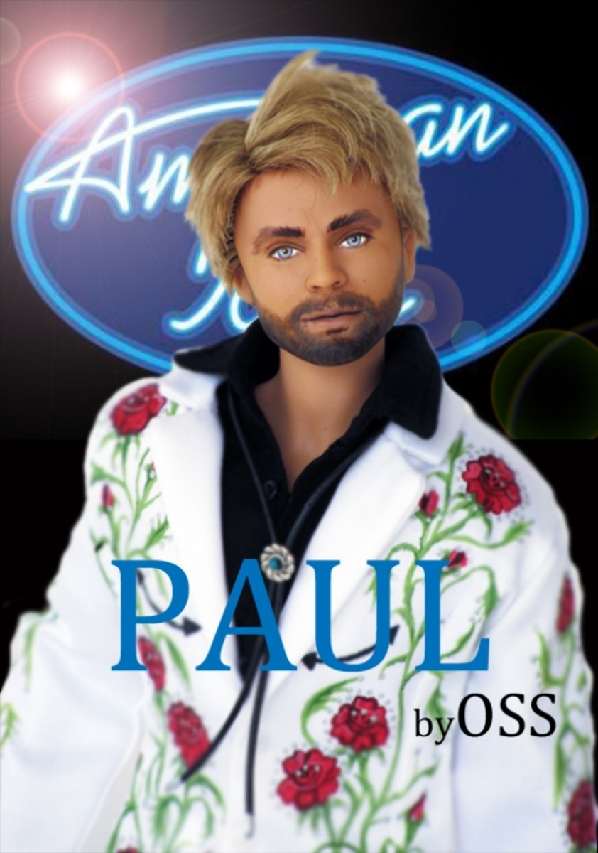 """Paul McDonald on American Idol"" by One Sixth Sense"