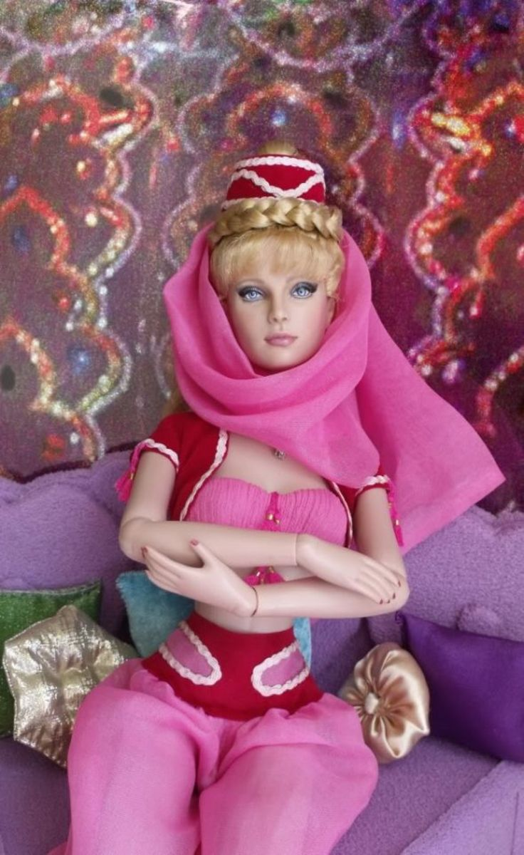 "Barbara Eden as ""Jeannie"" by Shannon Craven"
