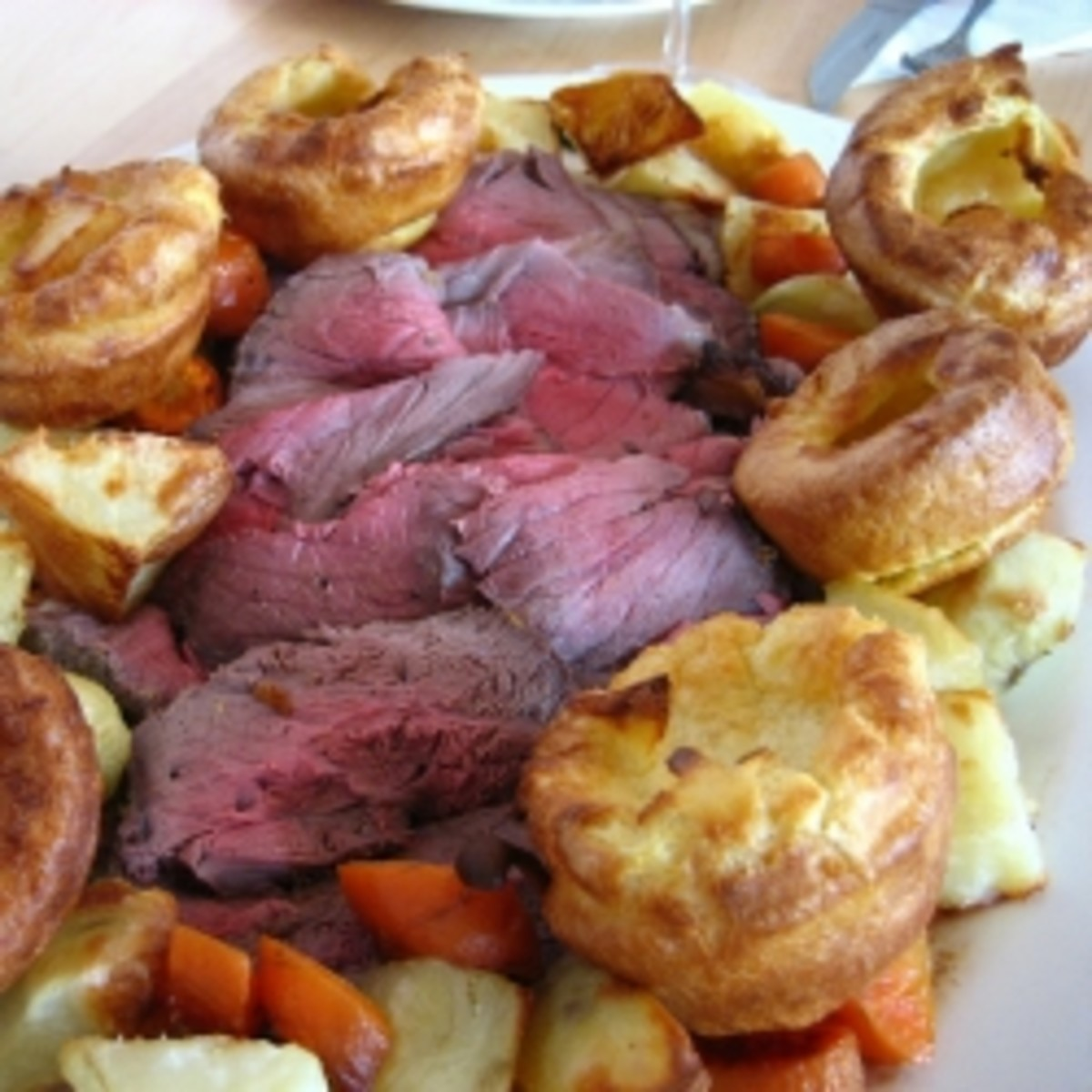 Yorkshire Pudding - How do you eat yours?