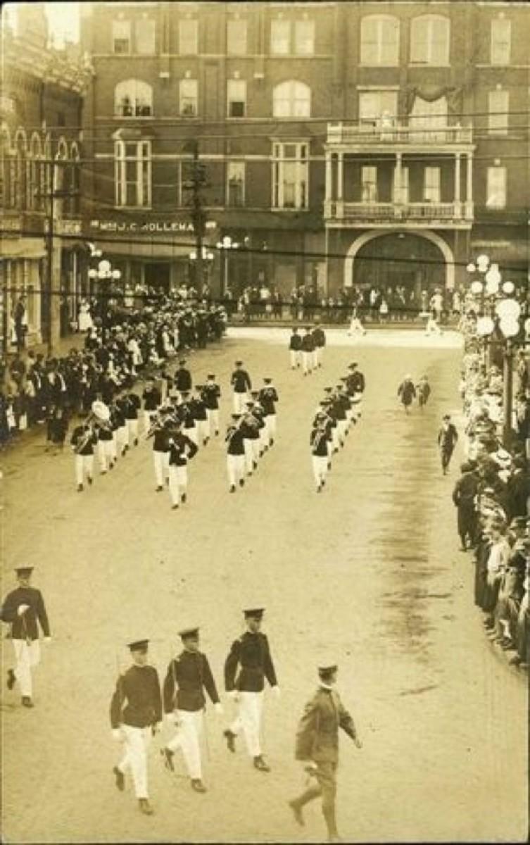 Clemson Cadets sometime between 1915-1918