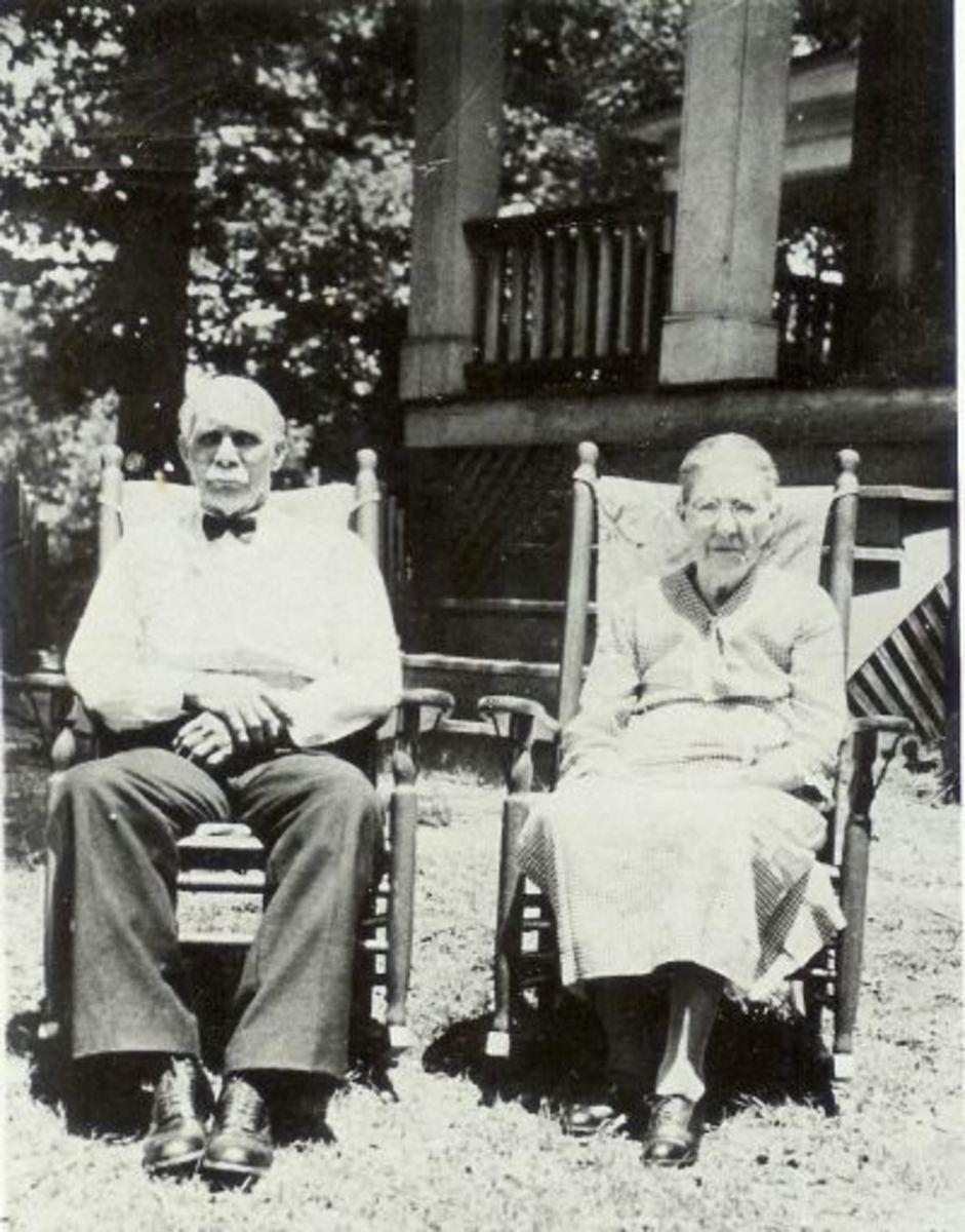 Sam Hall and Lou Crenshaw Hall (Arthur Hall's parents and grandparents of Ronald Hall)