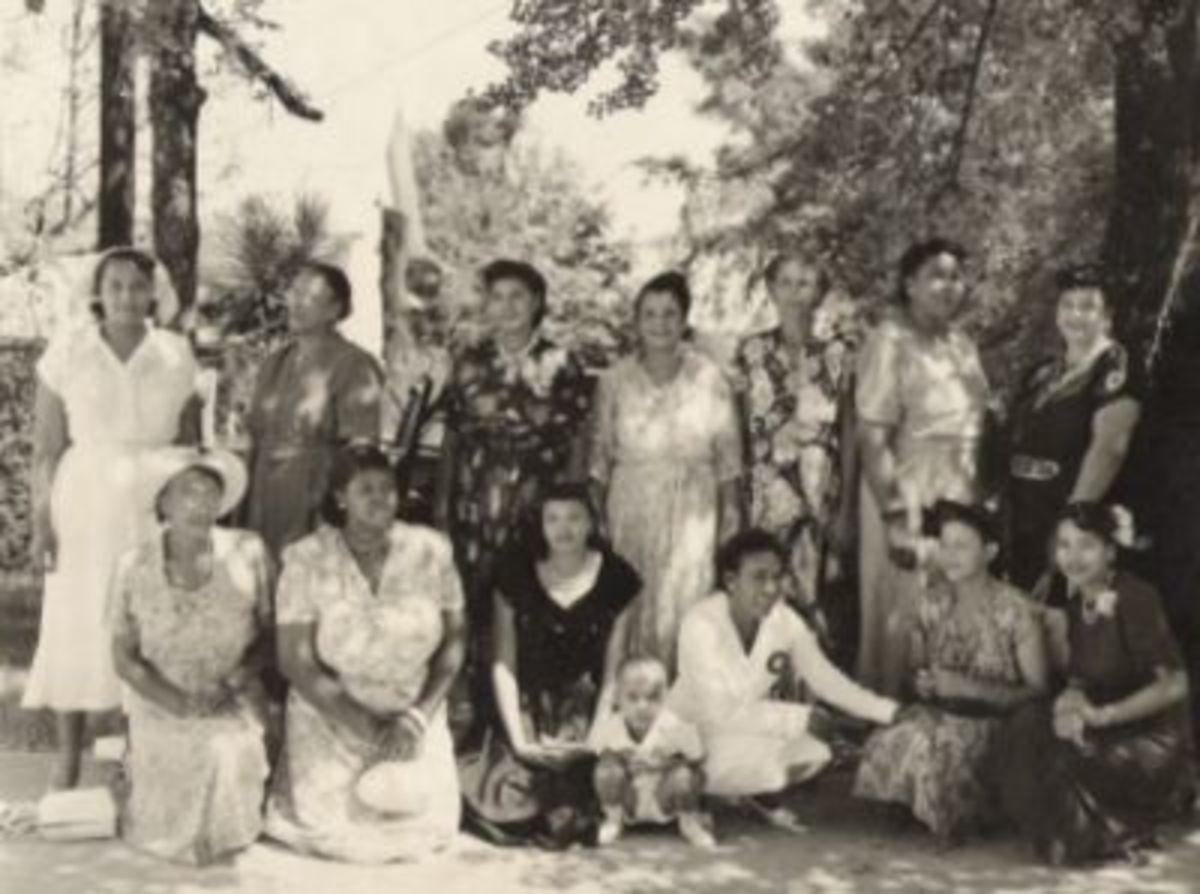 1950's Ladies of King's Chapel African Methodist Episcopal Church #2