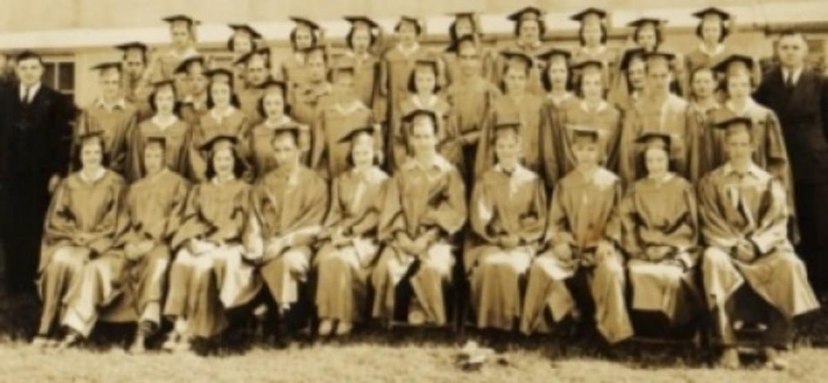 1939 Pendleton High School Graduating Class