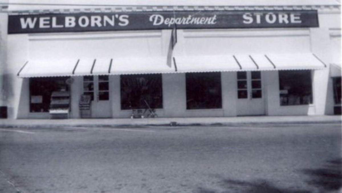 Welborns Department Store in Pendleton SC