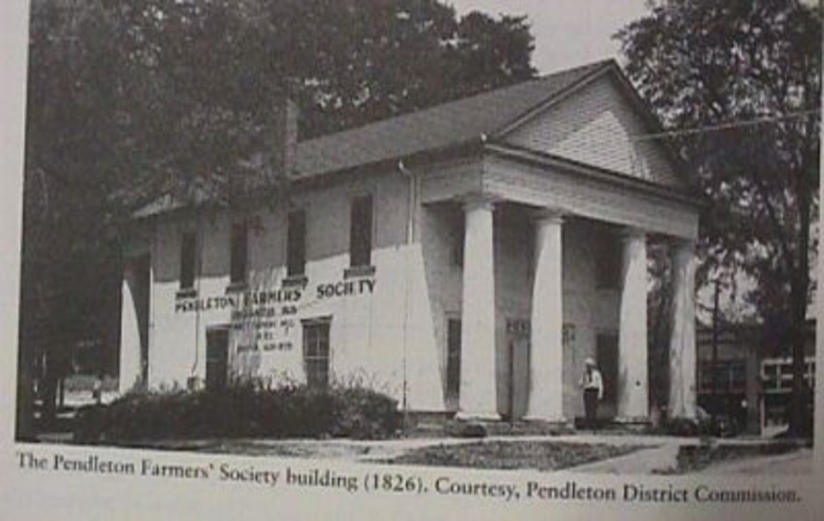 PENDLETON FARMERS HALL 1826