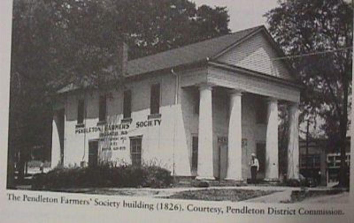PENDLETON FARMERS HALL 1826