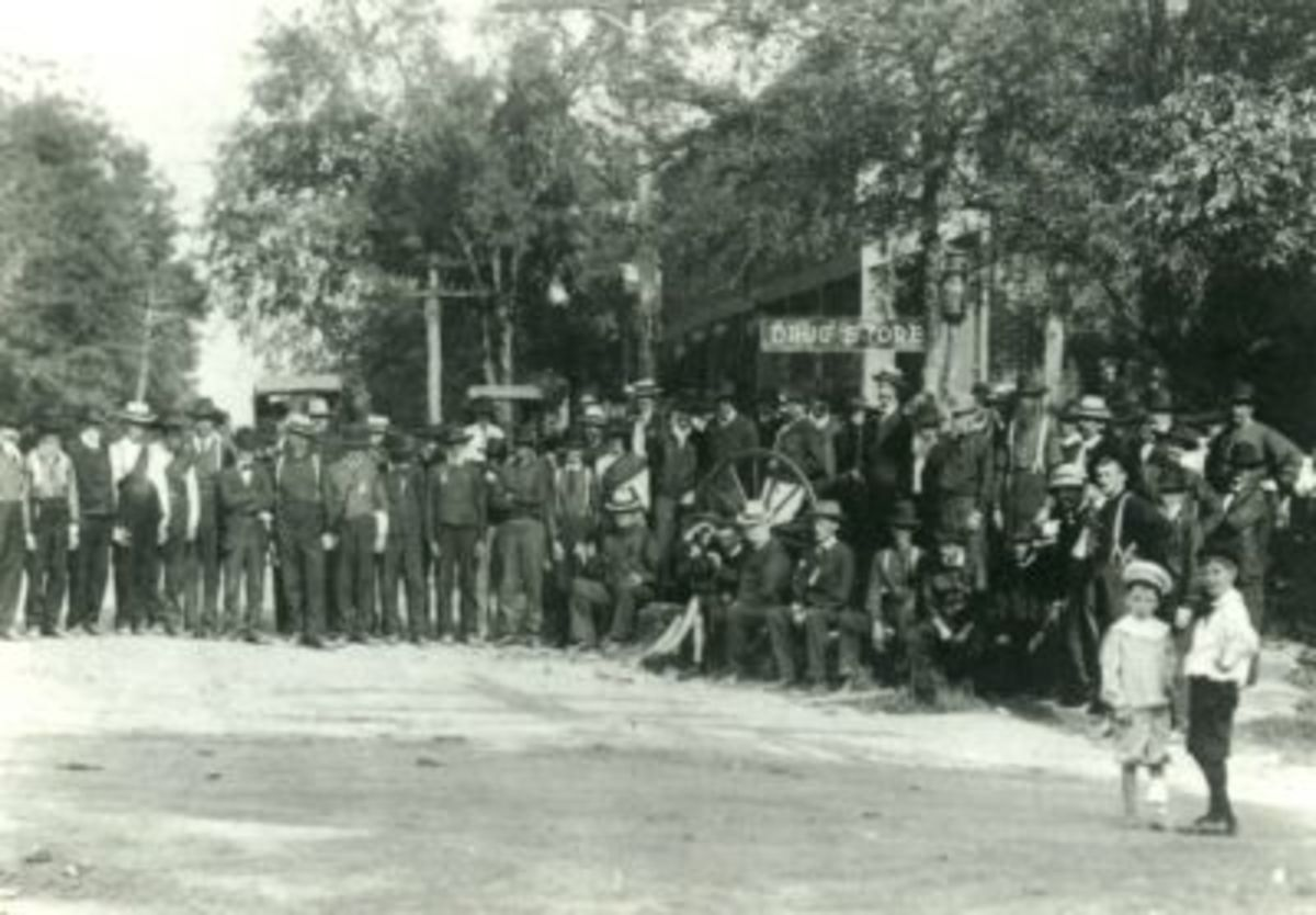 1906 Red Shirt Reunion in Pendleton SC