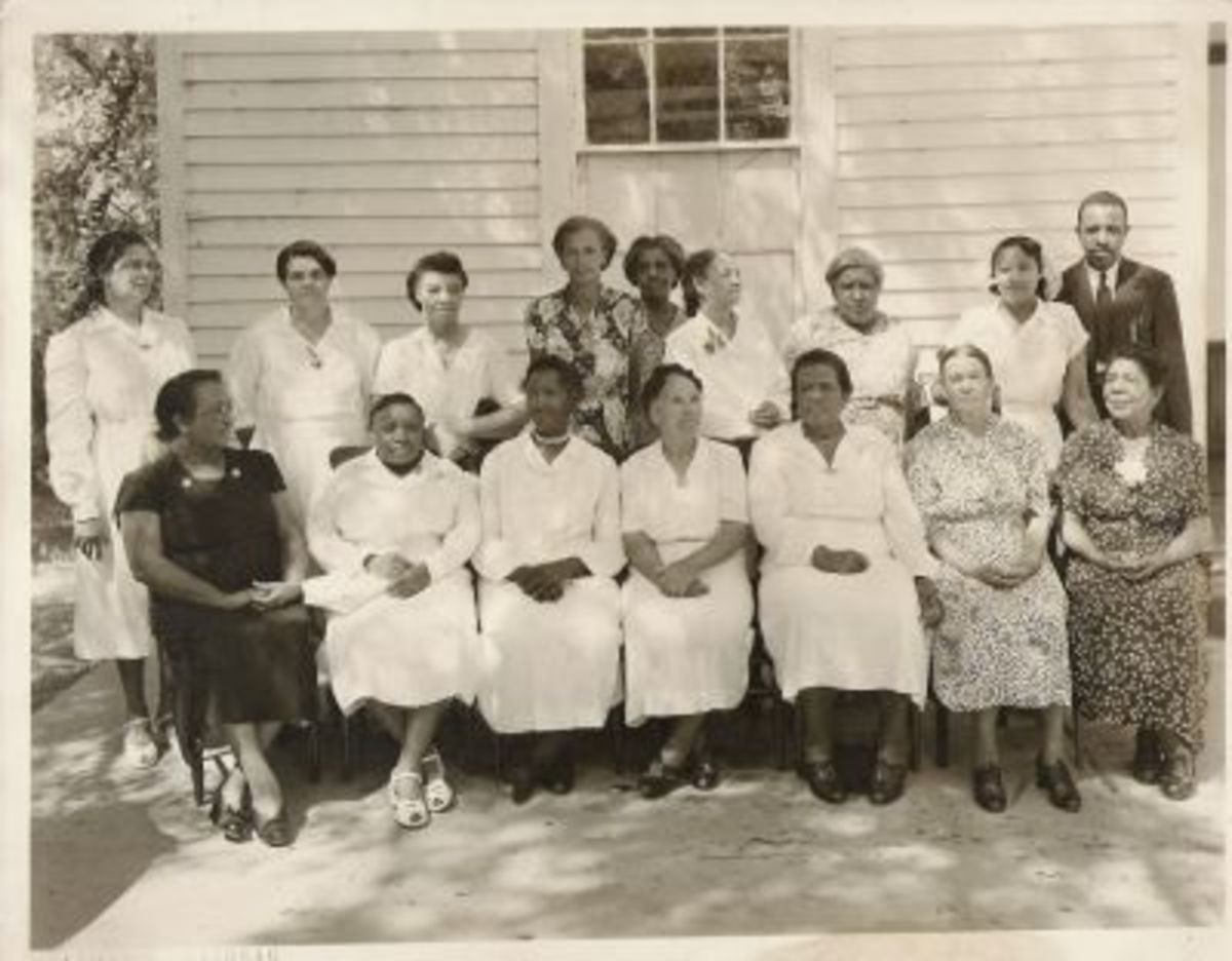 Ladies of King's Chapel African Methodist Episcopal Church - 1950's