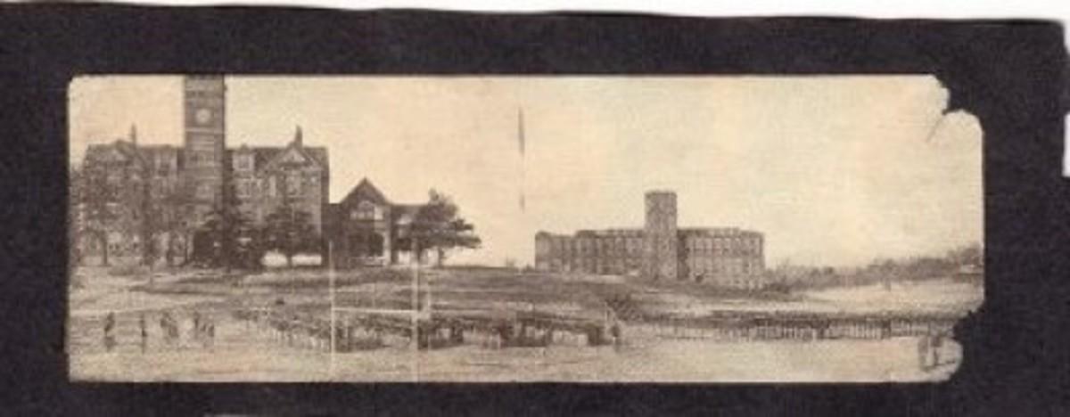 Vintage Postcard of Clemson Cadets