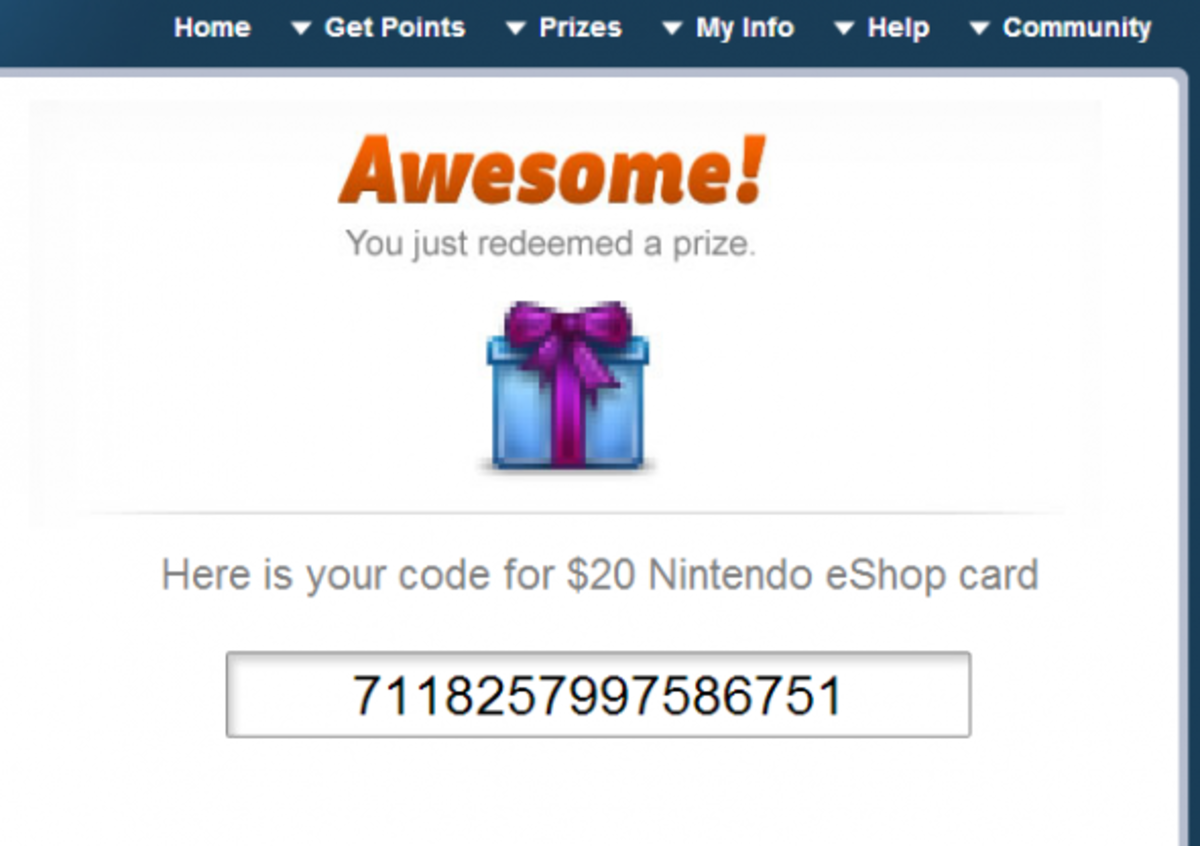 Free Nintendo eShop Cards | HubPages