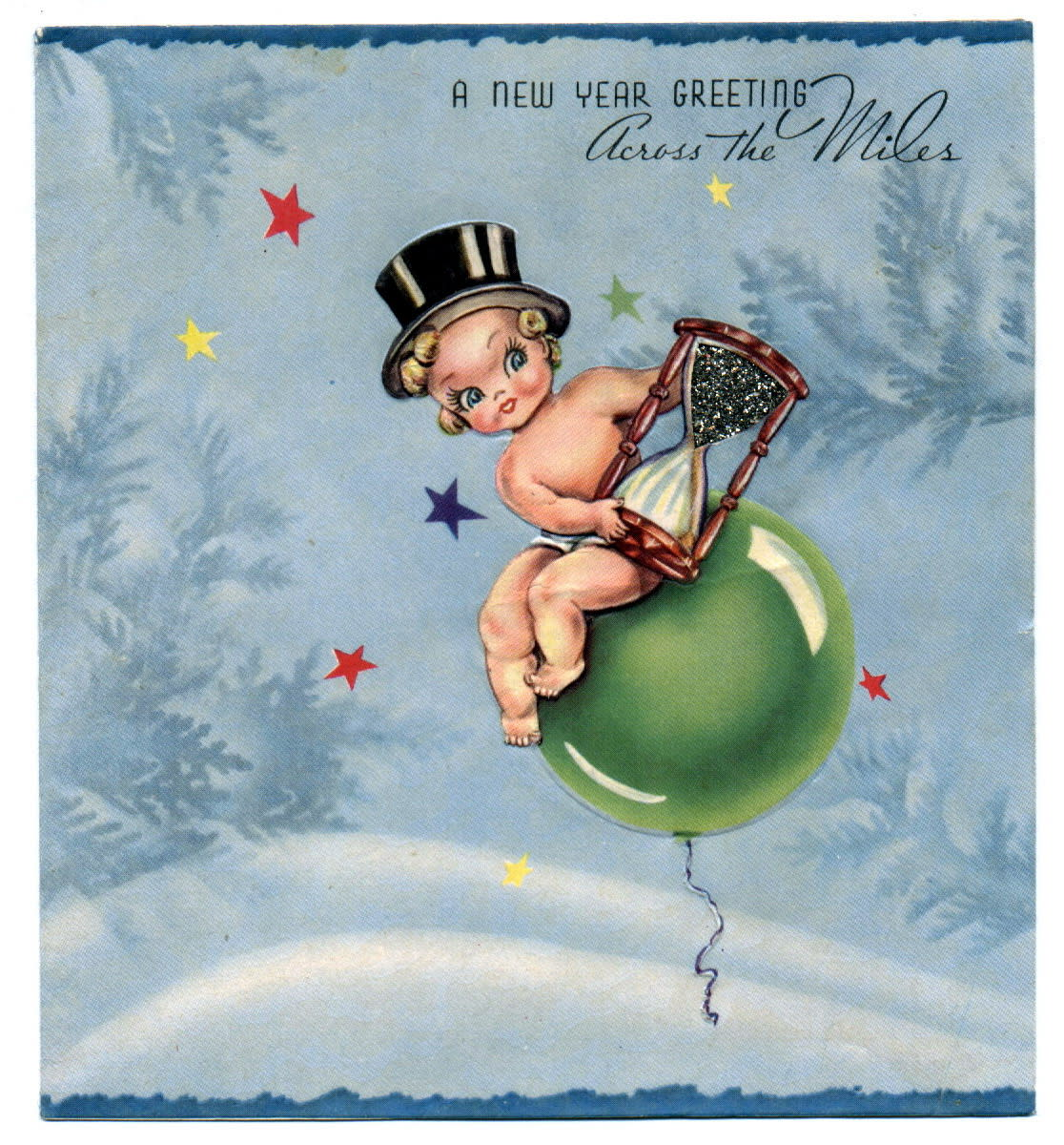 Happy New Year Cards: Baby New Year