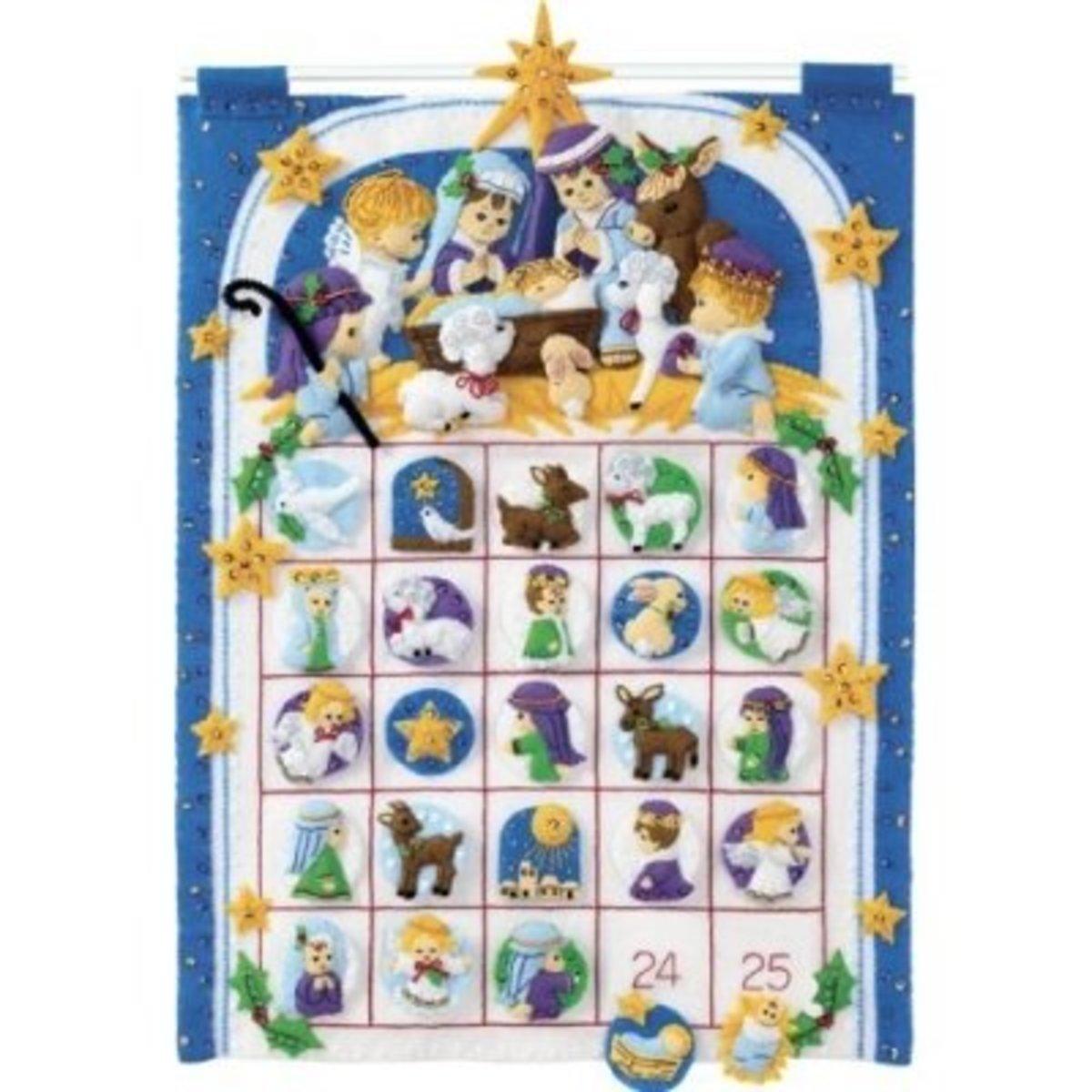 Nativity Advent Calender Kit