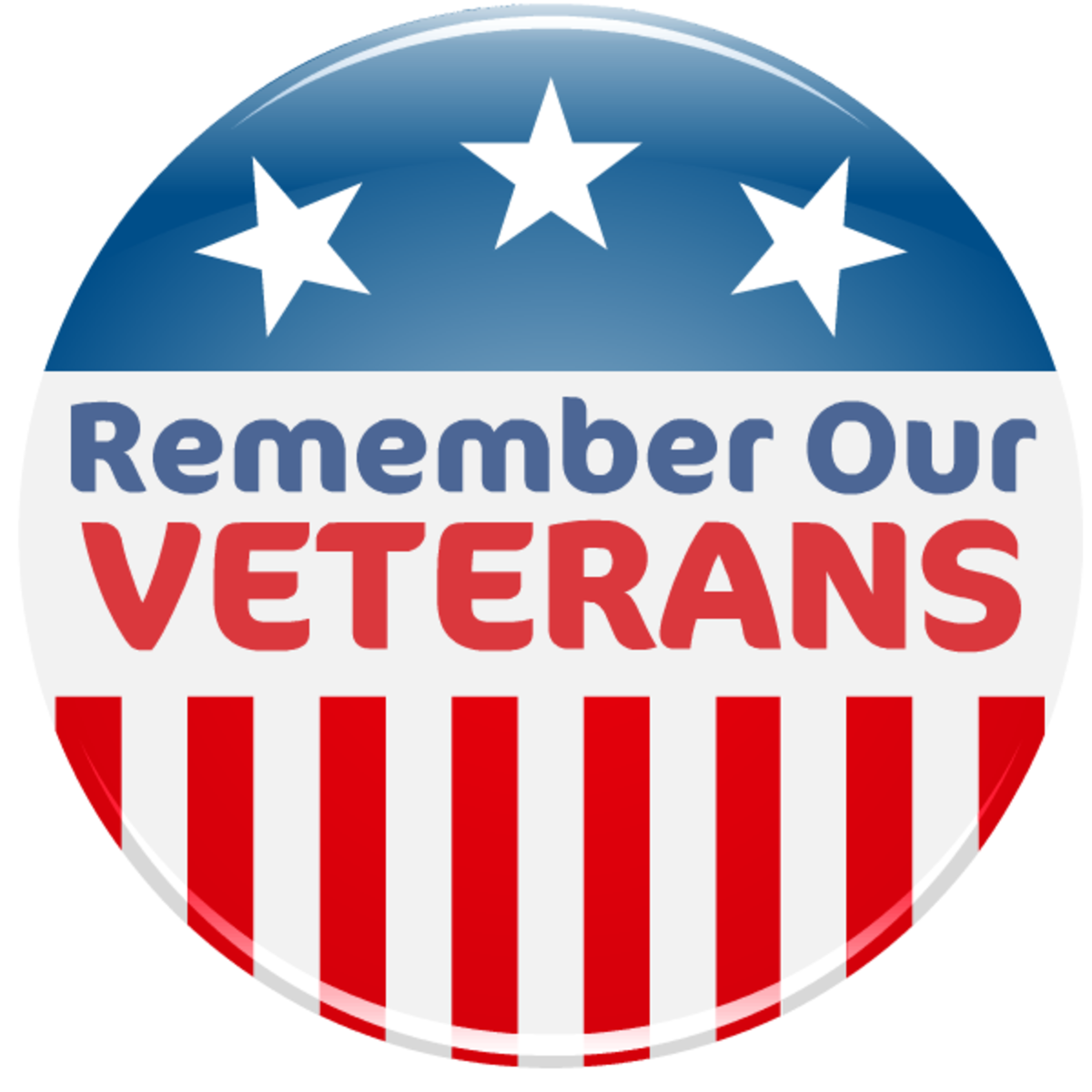 Free Patriotic Memorial Day and Veterans Day Clip Art