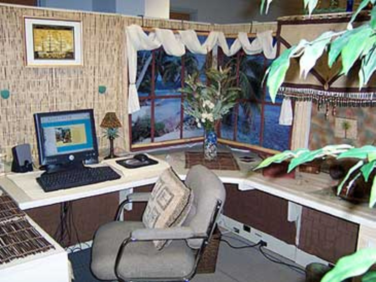 Office Cubicle Birthday Decorating Ideas