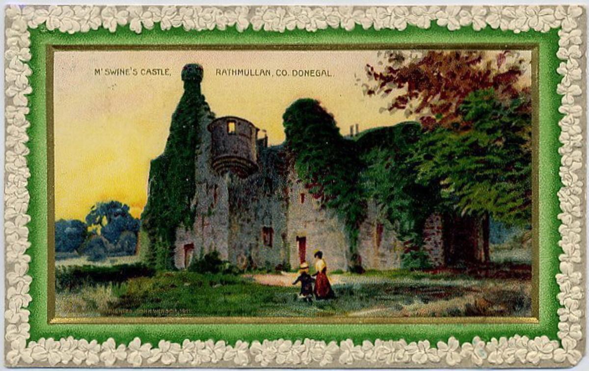 M'Swine's Castle Rathmullan, Co. Donegal, Ireland