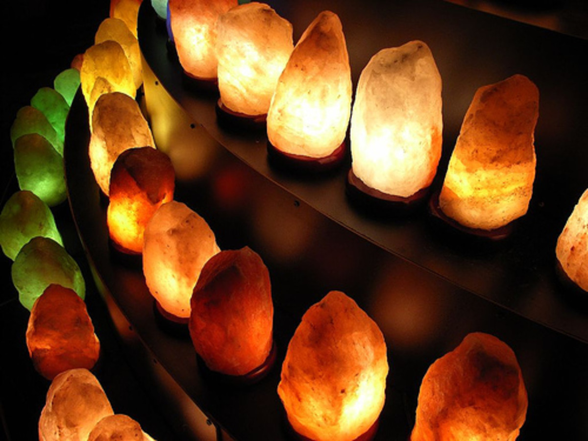 Salt Lamps And Sinus Problems : The Truth About Himalayan Crystal Salt Lamps