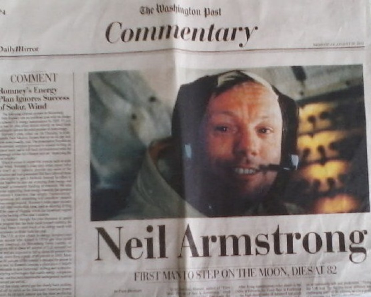 Announcing The Passing Away Of Space Legend Neil A Armstrong.