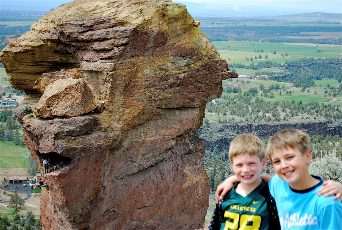 Monkey Face Spire at Smith Rock State Park (c) Stephanie Hicks