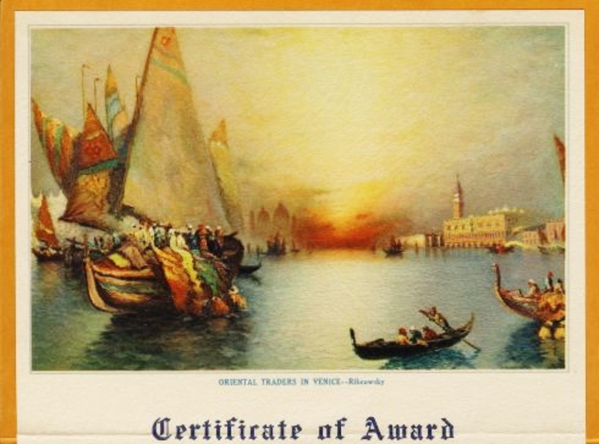 Award given in 1938