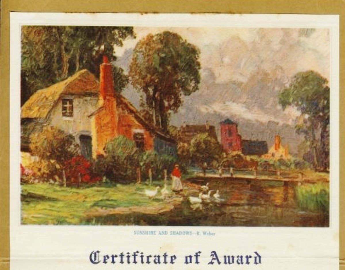 Award given in 1934