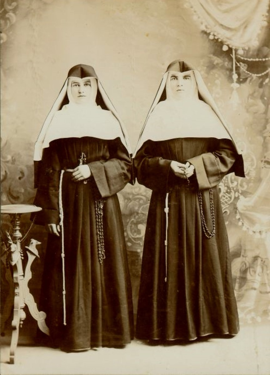 2 of my grandma's cousins were nuns