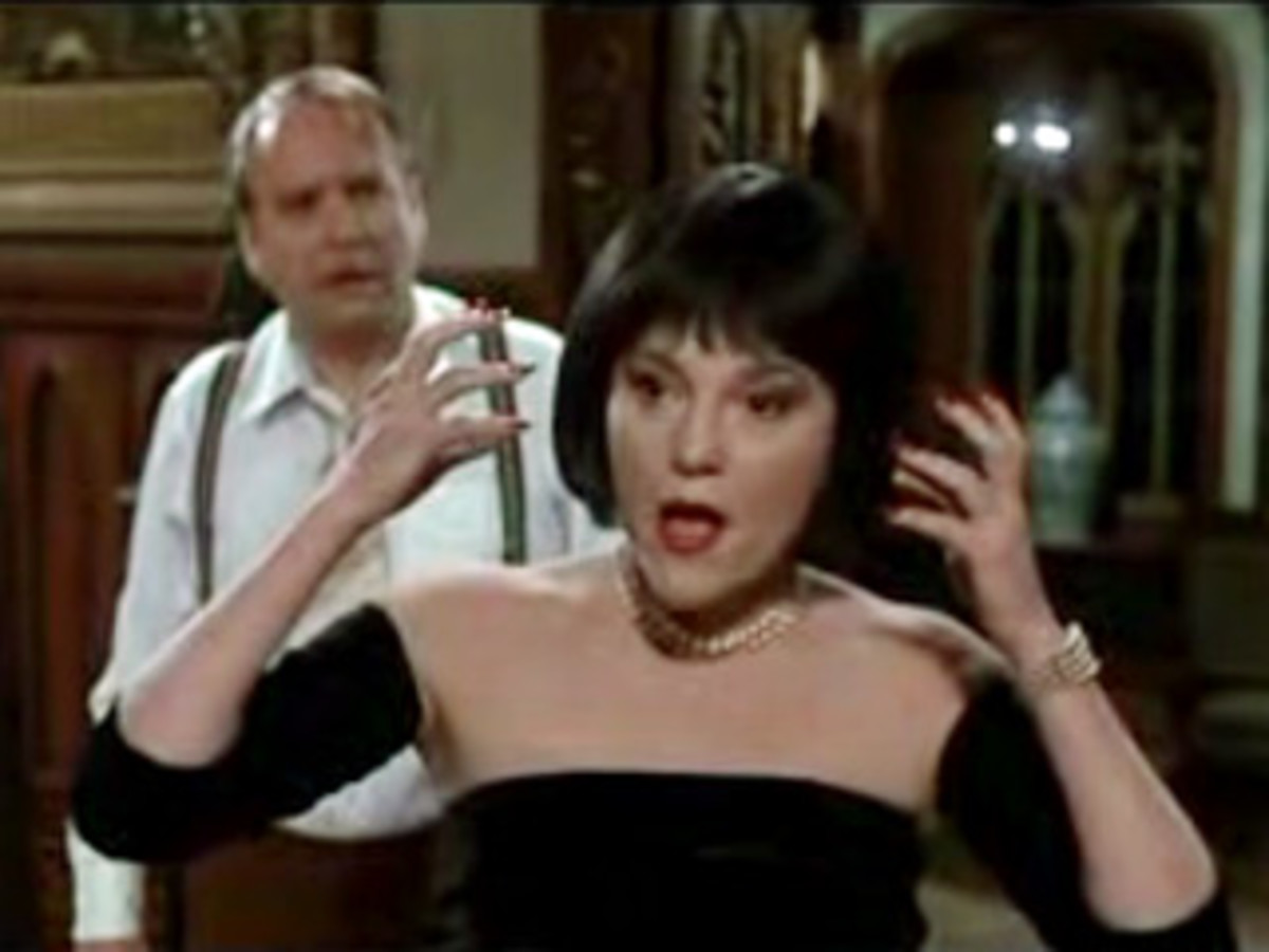 Madeline Kahn as Mrs. White in Clue 1985