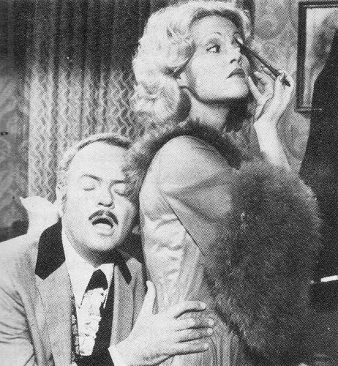 Harvey Korman, Madeline Kahn Blazing Saddles