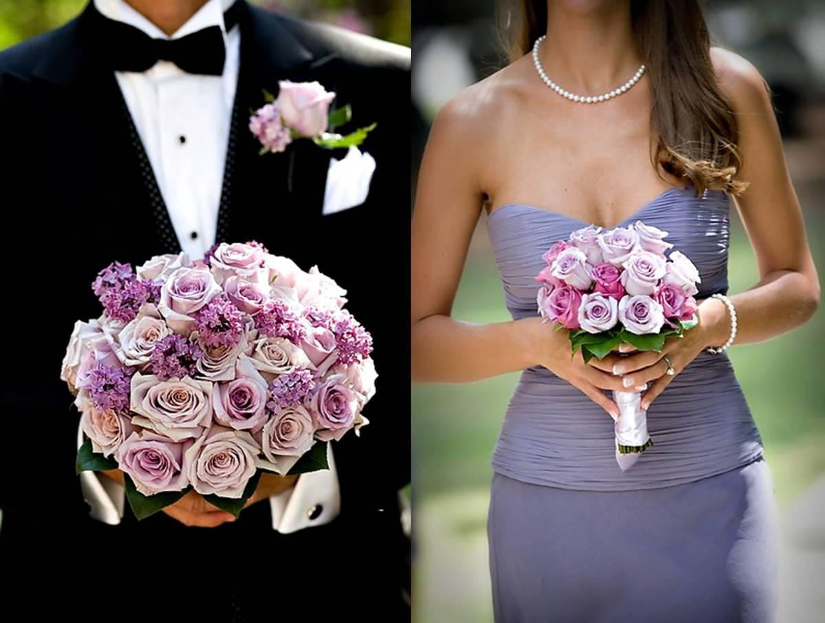 Purplethemed wedding elizabethannedesignscom