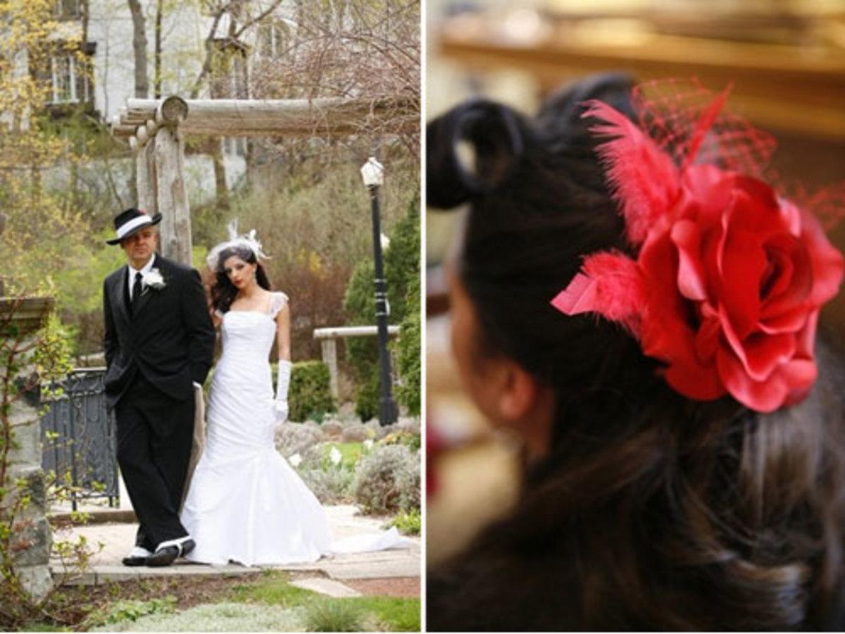 Hollywood Wedding Theme Idea [vintageglamblog.com]