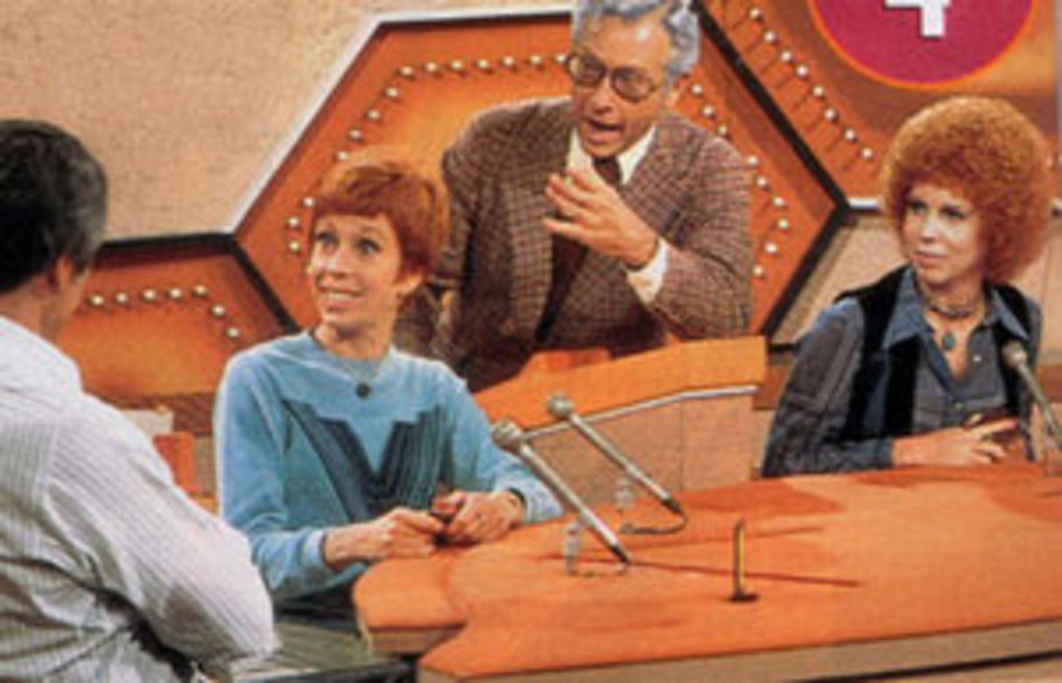 Carol Burnett on the game show Password