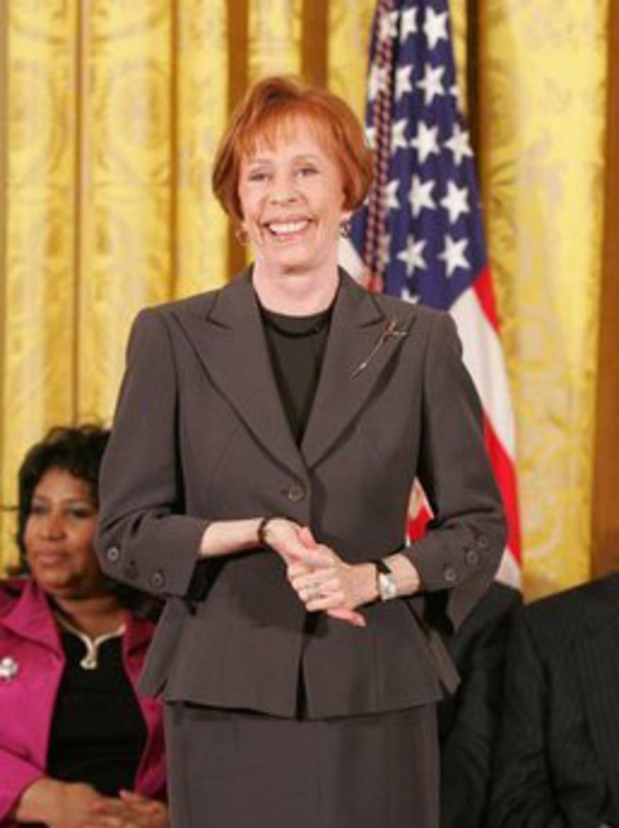 Carol Burnett at White House 2005