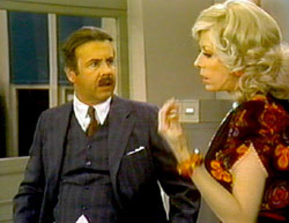 Tim Conway & Carol Burnett as Mr. Tudball & Mrs. Wiggins on The Carol Burnett Show