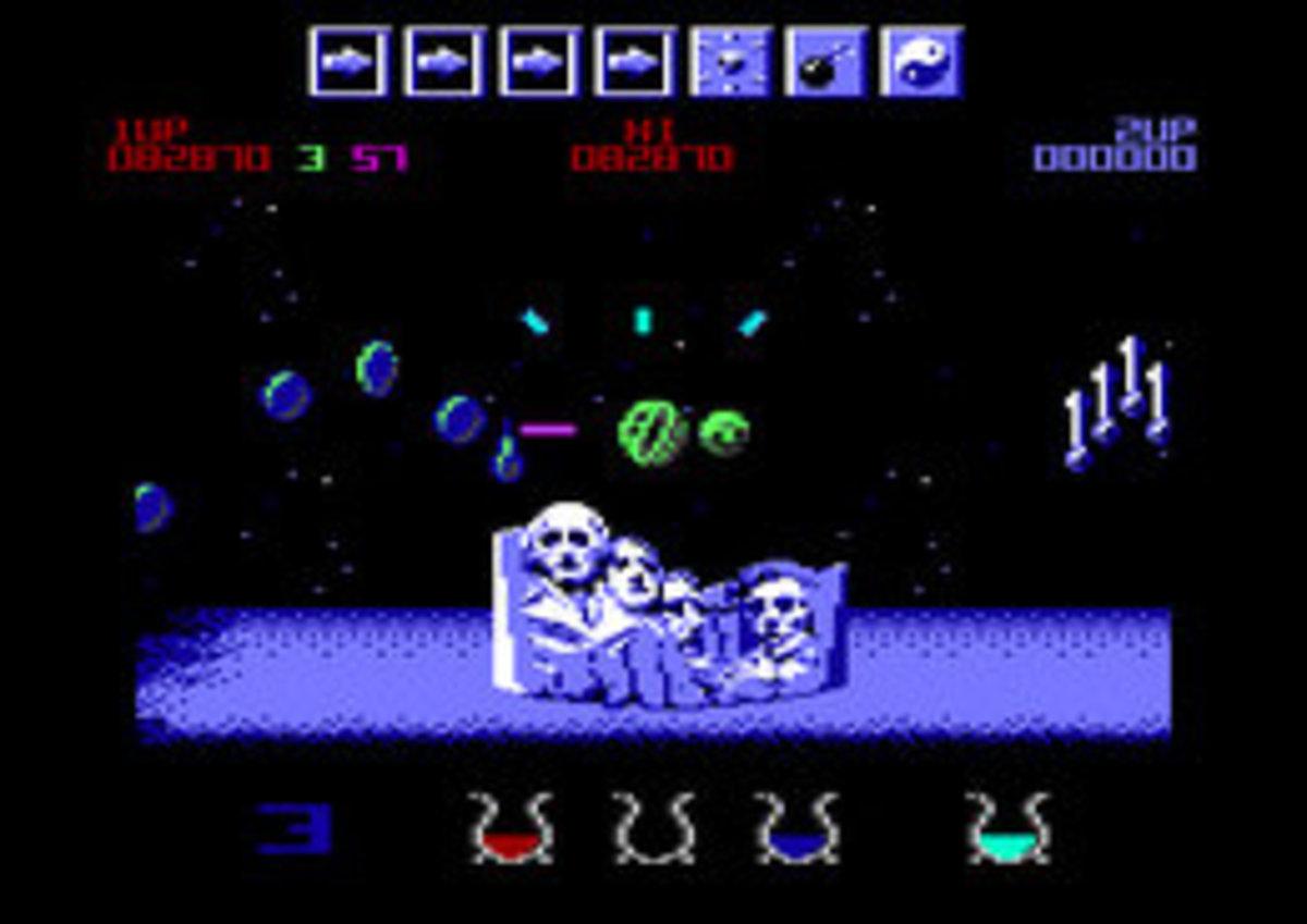 Wizball on the Commodore Amiga