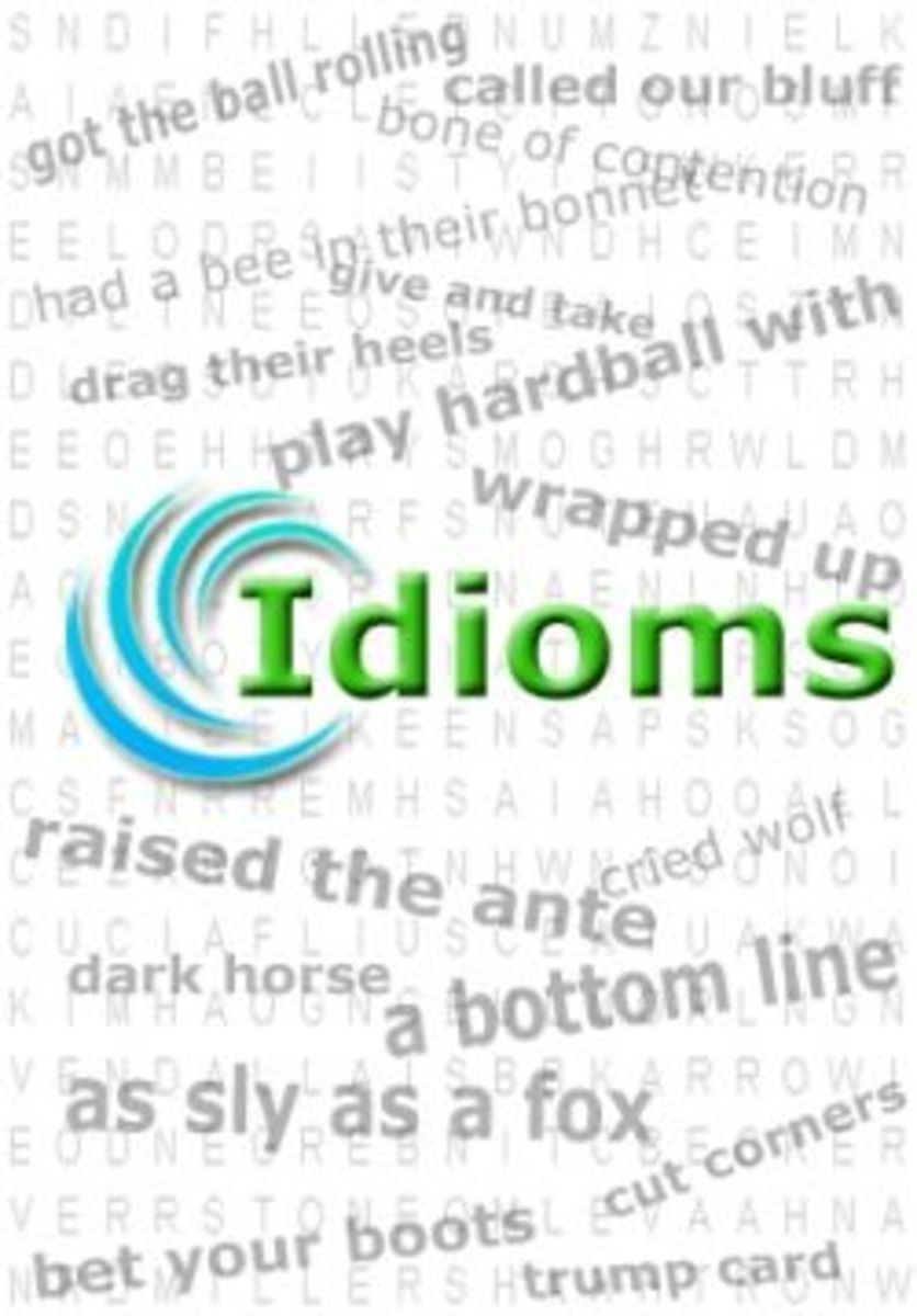 English Language Learning Challenges - Odd Origins of Idioms