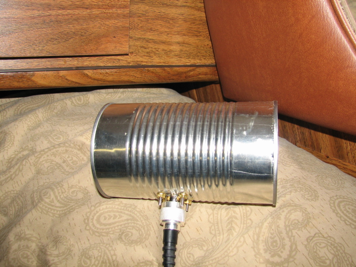 How to Make a Cantenna - Homemade Wi-Fi Antenna