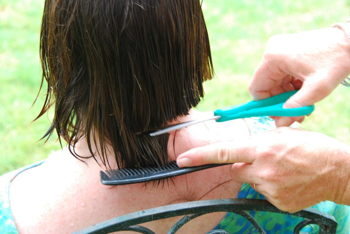 How To Cut Hair : Hair Cuts - How to Cut Hair at Home and Save Money - Chin Length Bob