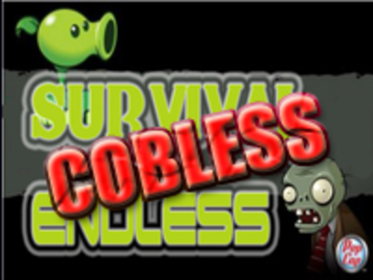 Survival Endless Cobless Setup Discuz | Plants Vs Zombies