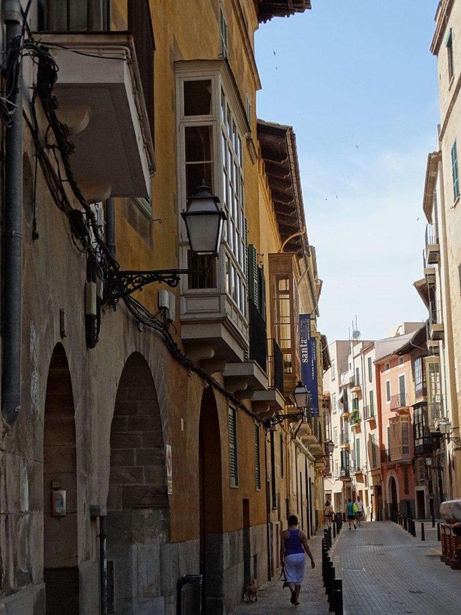 Street Scene - Palma de Mallorca - Mallorca - Spain