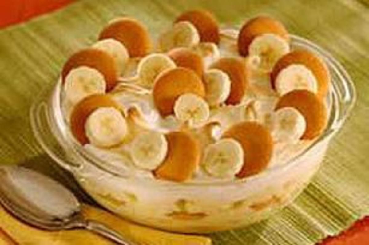 You just have to have banana pudding to go with any fried chicken meal.