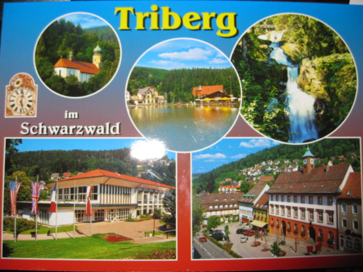 Travel Germany: Triberg Germany: Baden Germany