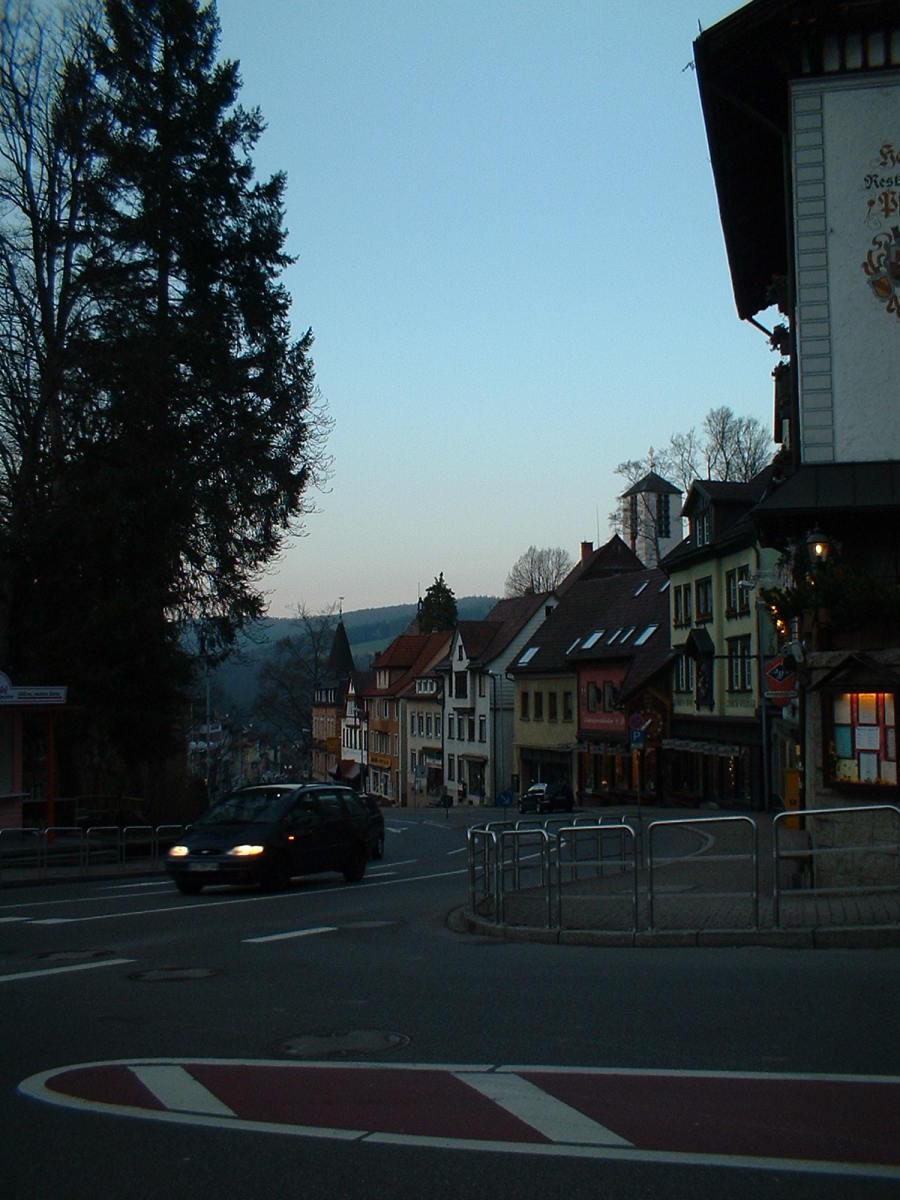 main street through town