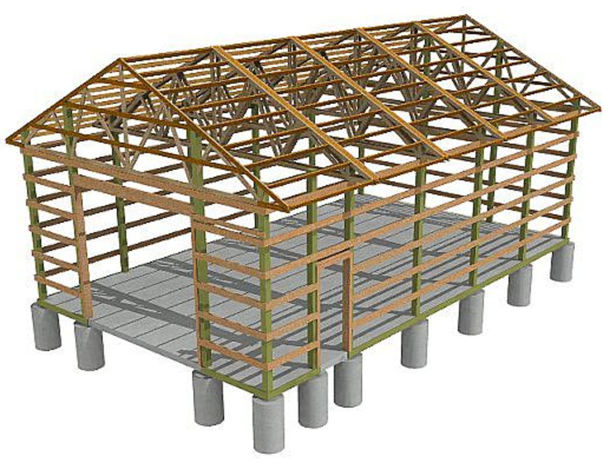 Pole barn plans Pole barn design plans