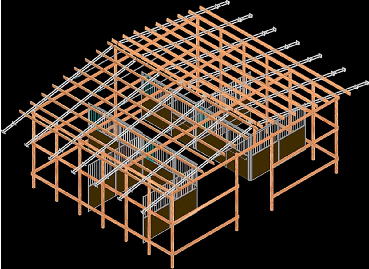 Pole barn plans help you to plan your timber requirements through detailed drawings