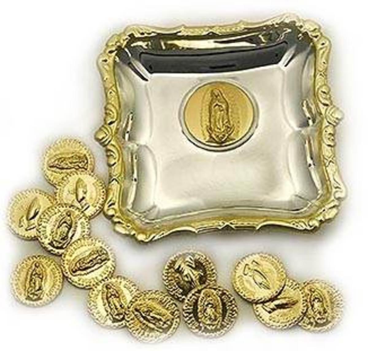 Thirteen Gold Coins