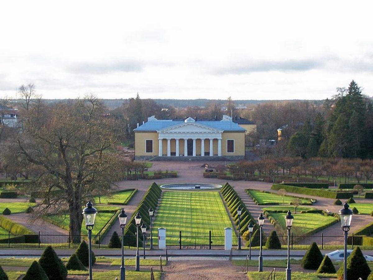 Uppsala University Botanical Garden.  Image by cyberjunkie.