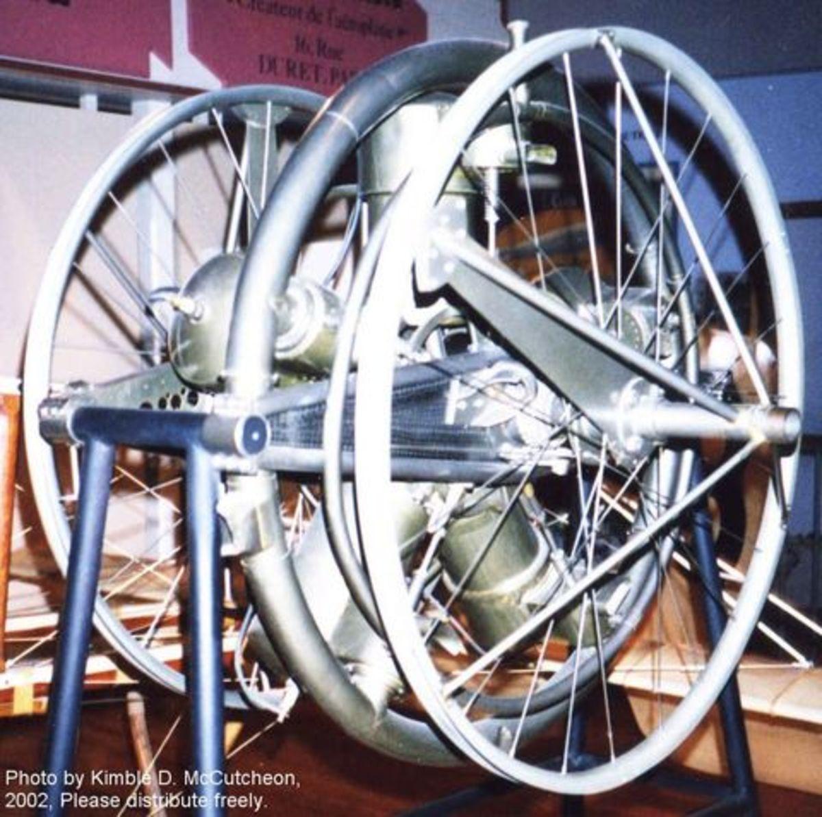 The Manley-Balzer engine. Photo courtesy of Kimbel McCutcheon.